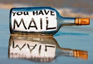 Manchmal ist eine Mail auch was Schönes.